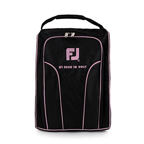 FOOTJOY Men&Women Golf Shoe Bags (Women/ Black-Pink, Free)
