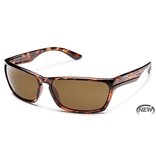 Suncloud Optics Cutout Polarized Sunglasses(Brown - Sunglasses Cutout