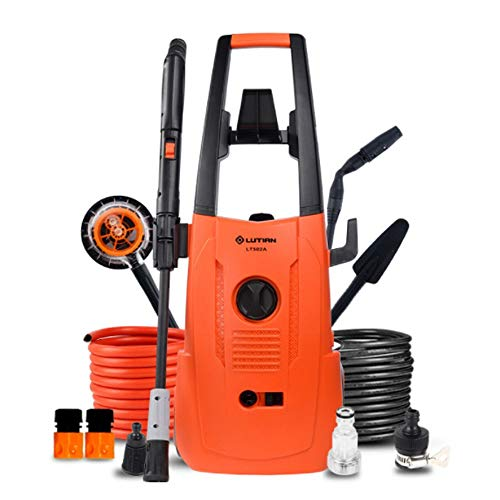 VWBQ Household high Pressure Cleaner All Copper Motor, Portable high Pressure car Washing Machine, Used for Home Watering, car wash 1600W