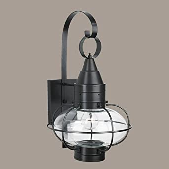 Norwell lighting 1512 br cl classic onion one light outdoor medium norwell lighting 1512 br cl classic onion one light outdoor medium wall mount aloadofball Choice Image