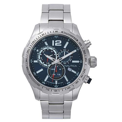 NAUTICA Gents NST 30 Boxset 45MM Wrist Watch (Nautica Watch Set)