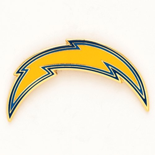 (NFL San Diego Chargers Collector Pin Clamshell)