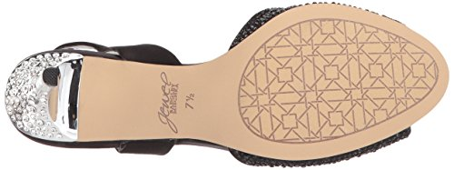Badgley Mischka Juvel Womens Garver Krenget Sandal Sort