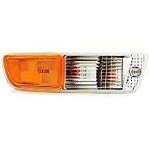 DAT 98-00 TOYOTA RAV4 FRONT PARKING SIGNAL LIGHT LENS AND HOUSING IN THE BUMPER RIGHT PASSENGER SIDE TO2521152