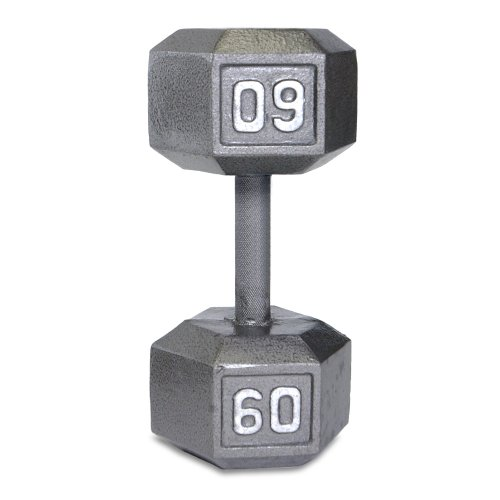 Cap Barbell Solid Hex Single Dumbbell