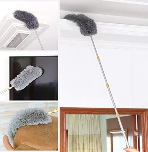 FO&OSOBEIT Feather Duster Telescopic Pole 66