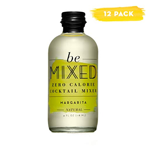 Zero Calorie Margarita Cocktail Mixer by Be Mixed | Low Carb, Keto Friendly, Sugar Free and Gluten Free Drink Mix | 4 oz Glass Bottles, 12 Count by Be Mixed (Image #7)