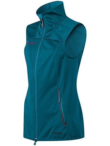 Mammut Ultimate SO Vest Women (Softshell Jackets/Vests) - d'pacific/radiance