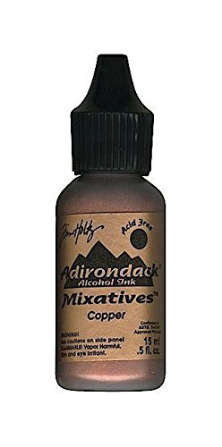 Tim Holtz Adirondack Alcohol Ink 0.5oz - Copper Metallic Mixative