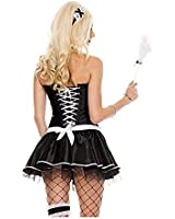Music Legs Women's Frisky French Maid Costume