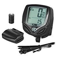 TRIXES Wireless Bike Computer Speedometer Speedo Odometer Cycle Bicycle Waterproof