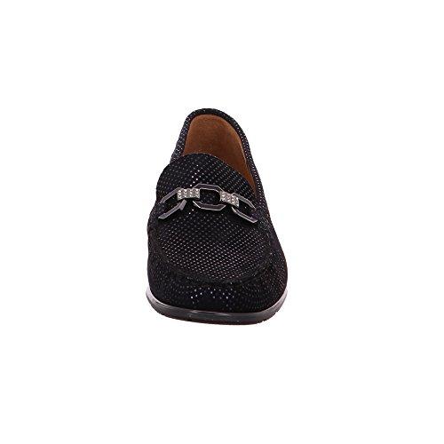 ara Women's 12-42230-23 Loafer Flats Black VUJiPMr2B