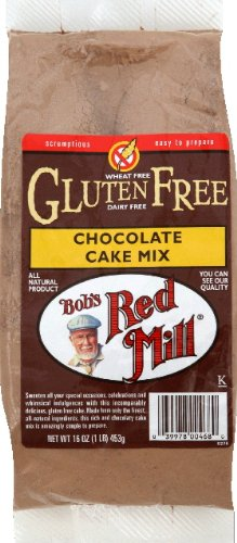 (Bob's Red Mill Cake Mix Chocolate Gluten Free 16.0 OZ (Pack of 3))