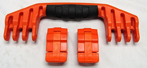 1 Orange Replacement Handle / 2 Orange Latches for Pelican 1520 or 1550 Customize your Pelican Case. (Pelican Case 1550 Orange)