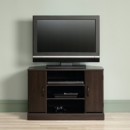 sauder tv stand cherry - 8