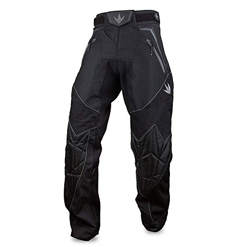 Bunker Kings V2 Supreme Paintball Pants (XXX-Large (3XL), Black)