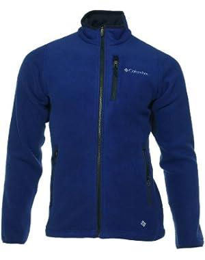 'Road 2 Peak' Men's Blue Fleece Jacket