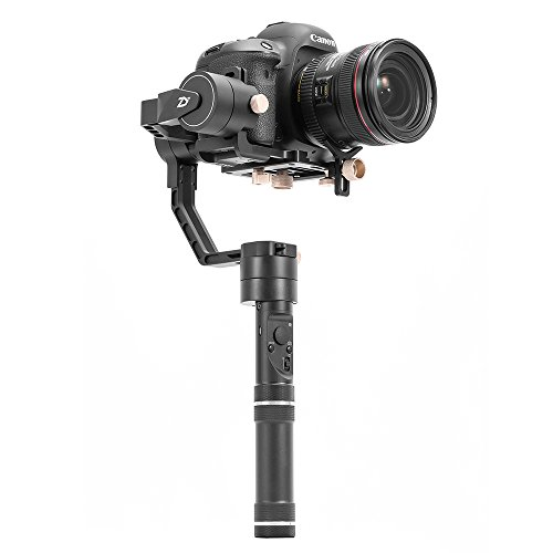 Zhiyun New Crane Plus 3 Axis Handheld Gimbal Stabilisator Left And Right Follow And Selfie Work Mode,18 Hours Running Time And 2.5 Kg Maximum Payload For DSLR Sony /Panasonic /Nikon J /Canon M Serie