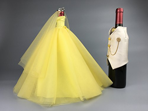 Bottle Ideas Bride And Groom Wine Bottle Covers Wine