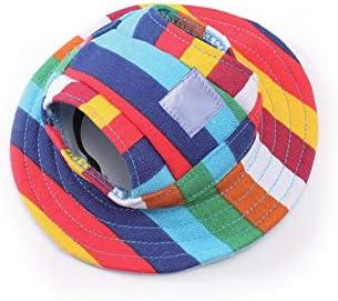 YaptheS Mascota Sombrero de Sun con Agujeros de Las Orejas S ...