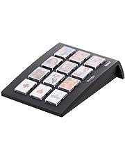 Tiptel Ergophone 12 keuzeapparaat met 12 fototoetsen zwart