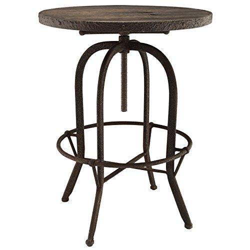 Sylvan Wood Top Bar Table in Brown