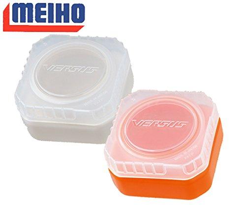 MEIHO(メイホウ) VS-L425 リキッドパック エサ・ワーム入れ クリアオレンジの商品画像
