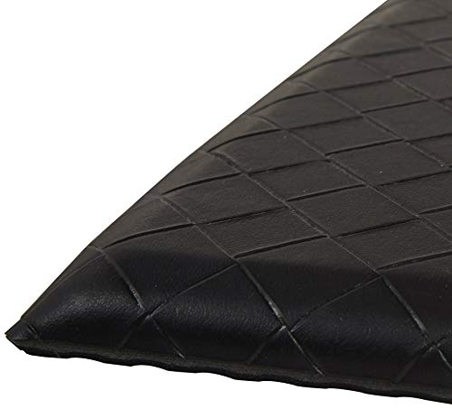 - AmazonBasics Premium Anti-Fatigue Standing Comfort Mat for Home and Office - 20x36-Inches, Black (Renewed)