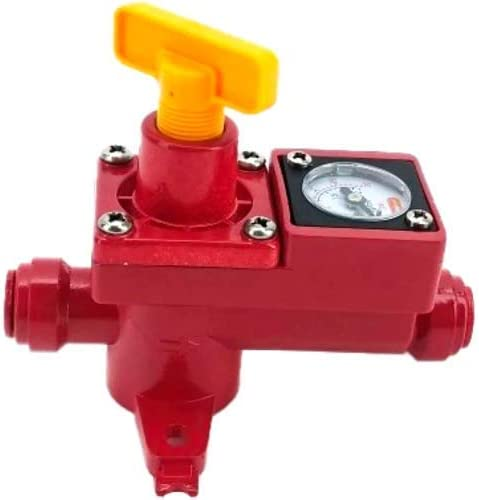 Duotight BlowTie 2 Diaphragm Spunding Valve w//Integrated Pressure Gauge 0-23 PSI for Pressure Fermentation KL15042