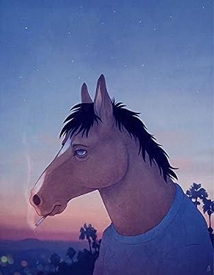 MOTIVATION4U BoJack Horseman, an American adult animated black comedy-drama series, Will Arnett, Diane Nguyen, Princess Carolyn 12 X 18 inch poster