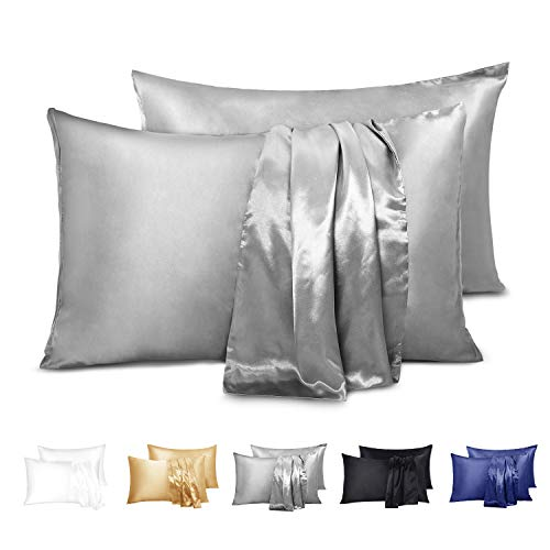 Top 10 Silk Pillowcase For Hair Care Of 2019 No Place