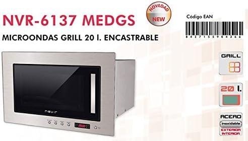 Nevir - Microondas-Con-Grill-Nevir-Nvr6137: 124.97: Amazon.es: Hogar