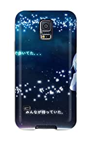 Minnie R. Brungardt's Shop Lovers Gifts 2816281K12019140 High Quality Angel Beats Case For Galaxy S5 / Perfect Case