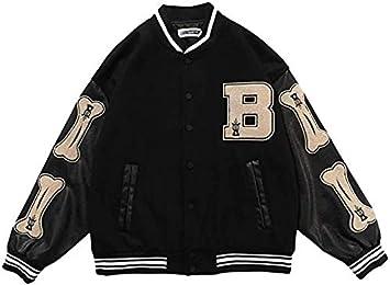 ANGELA -メンズジャケット大学野球スポーツジャケットスウェットジャケットクラシック野球ジャケットユニセックスファッションストリートウェア