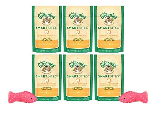 - Greenies Feline Smartbites Hairball Control-Chicken Plus 2 Cat Toys
