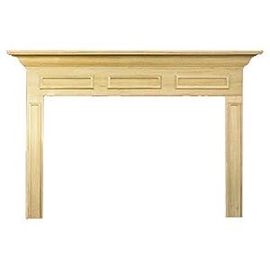 Amazon.com: Litchfield II MDF Primed Fireplace Mantel