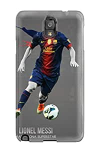 High Quality AmandaMichaelFazio Lionel Messi Barcelona Skin Case Cover Specially Designed For Galaxy - Note 3