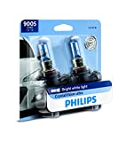 auto parts gmc sonoma - Philips 9005 CrystalVision Ultra Upgraded Bright White Headlight Bulb, 2 Pack
