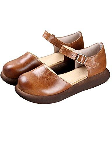 (のグレープフルーツ プラム)本革 厚底 サンダル スポーツサンダル コンフォートサンダル 歩きやすい おしゃれ サンダル レディースサンダル 牛革