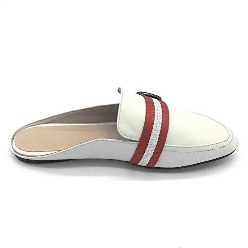 Aperte Aiyoumei Caviglia Bianco Sulla Donna nf17xqw4C