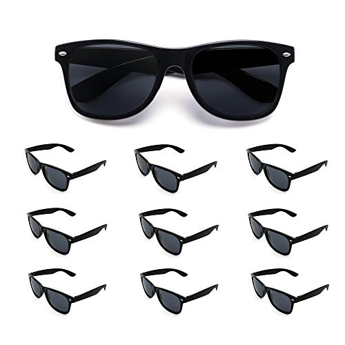 10 Pack Bulk Wholesale Party Sunglasses supplies,Perfect Novelty Party Favor for women men -