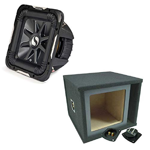 Kicker 11S15L74 Solobaric L7 Subwoofer Single 15″ Custom Vent Sub Enclosure Box