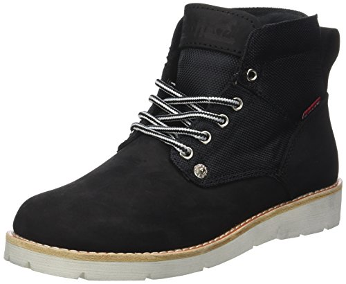 Regular Nero Stivaletti Jax Levis Donna Lady Black w1qSU