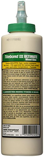 037083014143 - Franklin International 1414 Titebond-3 Ultimate Wood Glue, 16-Ounce carousel main 1