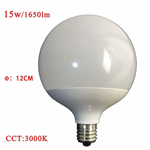 Kitchen Shell 40 Sink (15W LED globe Bulb warm white 3000k 100-150W Equivalent Incandescent Bulbs Replacement warm white 3000k E26 Medium Screw Base Globe Shape Perfect for use in the kitchen bathroom (Non-Dimmable))