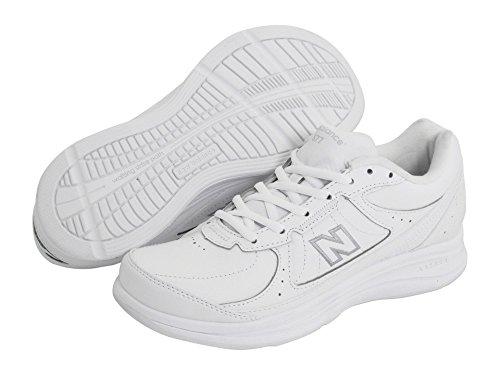 (ニューバランス) New Balance レディースウォーキングシューズ?靴 WW577 White 7.5 (24.5cm) B - Medium