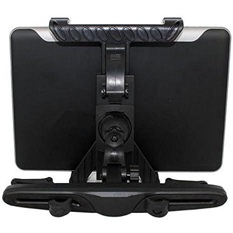Amazon.com: Car Headrest Mount Tablet Holder Rotating Cradle Back Seat Dock Stand Kit Black for iPad Mini with Retina Display - iPad Pro 9.7 - Archos 10.1 ...