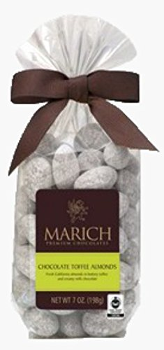 Marich - Stand Up Bag - 7oz (Chocolate Toffee Almonds - Toffee Marich