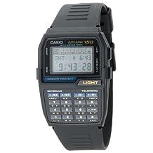 Casio Men's DBC150-1 Databank Black Dial Watch