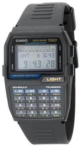 Casio Men's DBC150-1 Databank Digital Watch